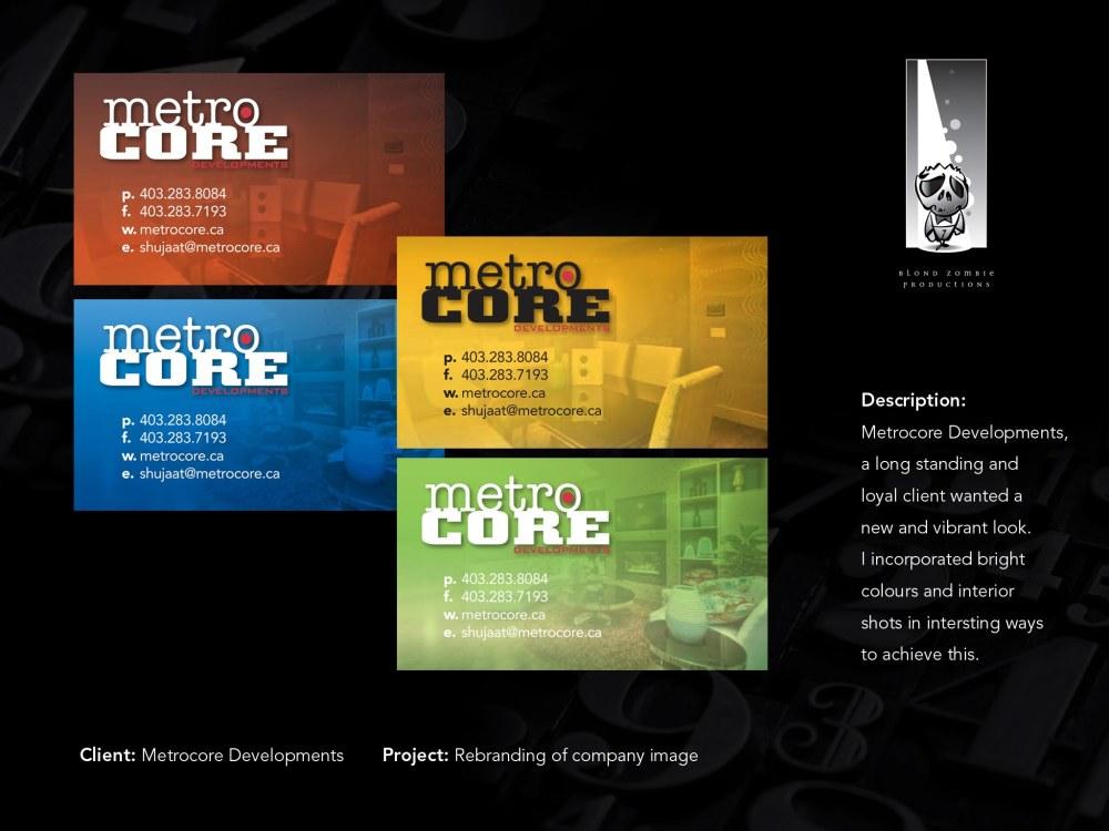 Metrocore Branding